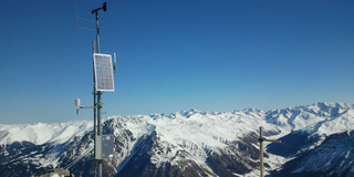 Weather station Graun Elferspitze