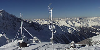 Weather station Sulden Schöntaufspitze