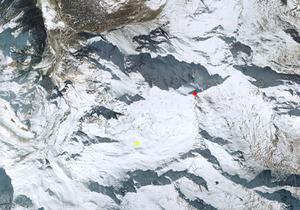 Aerofotografia: Campo neve Solda Madriccio
