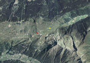 Aerofotografia: Stazione meteo di alta quota CRESTA DEL GIOVO