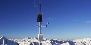 Stazione meteo di alta quota Predoi Pizzo Lungo