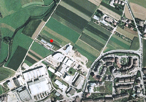 Luftbild: Wetterstation Bruneck