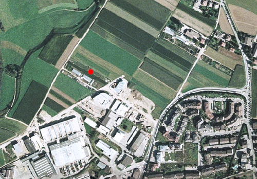 Aerial images: Weather station Bruneck