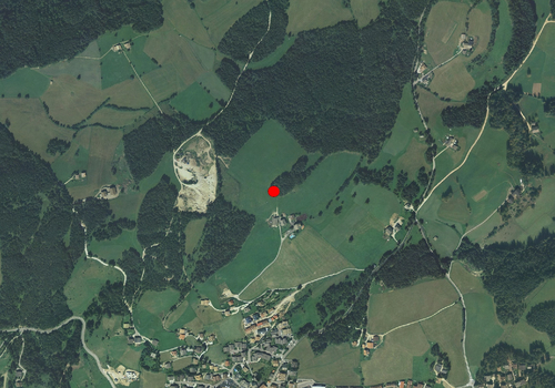 Aerial images: Weather station Deutschnofen