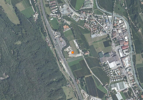 Aerial images: Weather station Brixen