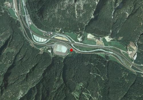 Aerofotografia: Stazione meteo Fortezza Le Cave