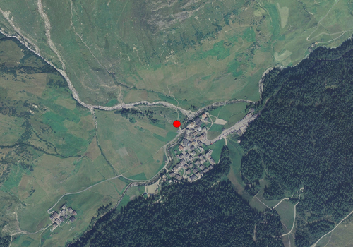 Aerial images: Weather station Pfelders