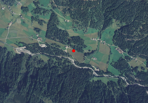 Aerial images: Weather station Rein in Taufers
