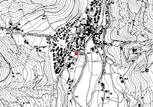 Technical map: Weather station Sarnthein
