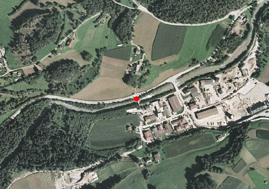 Technical map: Gauging station GADER BEI MONTAL