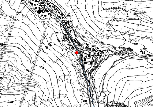 Technical map: Weather station Sëlva