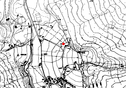 Technical map: Weather station Vals
