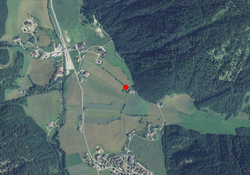 Aerial images: Weather station Vals