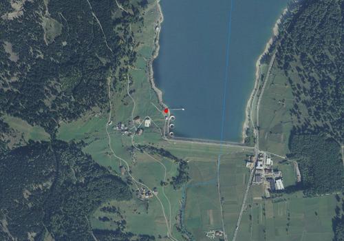 Aerofotografia Stazione meteo S. Valentino alla Muta