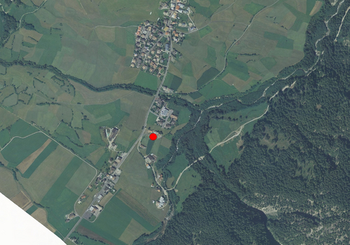 Aerial images: Weather station Taufers i.M.