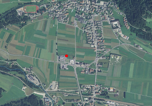 Aerial images: Weather station Toblach