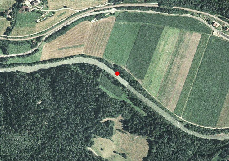 Technische Karte: Pegelstation RIENZ BEI VINTL