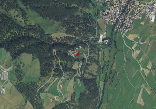 Aerial images: Weather station Marienberg