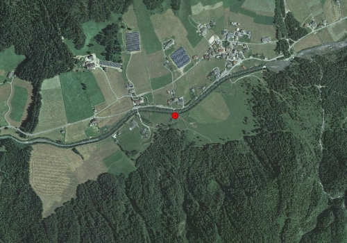 Aerial images: Weather station Pfitsch St. Jakob