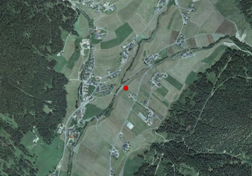 Aerial images: Weather station St. Magdalena in Gsies