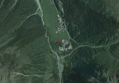 Aerial images: Weather station Sulden
