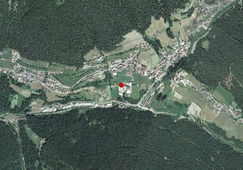 Aerial images: Weather station Welschnofen