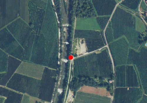 Technical map: Gauging station PASSER BEI MERAN