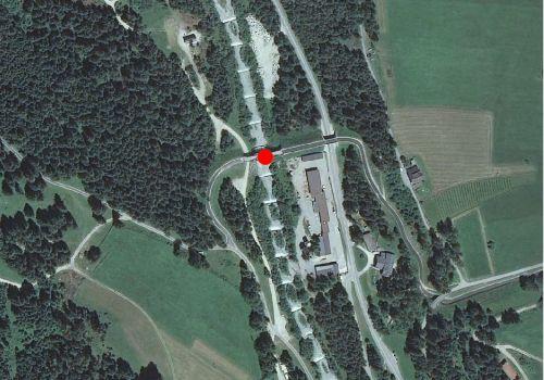 Technical map: Gauging station PRAGSERBACH BEI AUSSERPRAGS