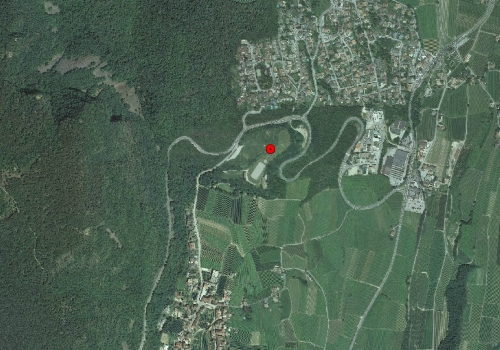 Aerial images: Weather station Kaltern Oberplanitzing