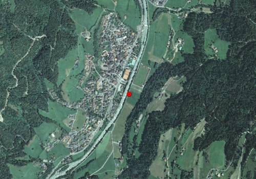 Aerial images: Weather station St. Martin in Passeier