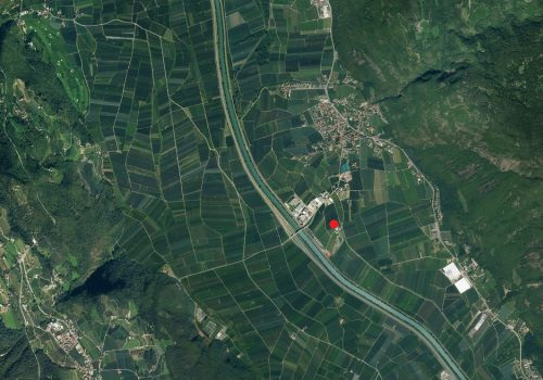Aerial images: Weather station Gargazon