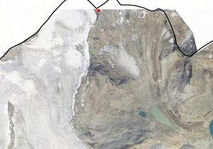 Technische Karte: Höhenwindstation Signalgipfel Wilder Freiger