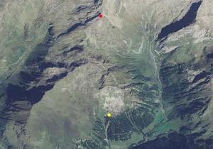Technische Karte: Höhenwindstation Pfunders Dannelspitz