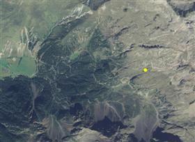 Aerofotografia: Campo neve Pennes Val Tramin