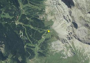 Aerofotografia: Campo neve NOVA PONENTE OBEREGGEN