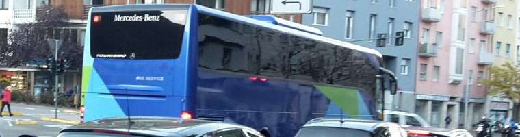 Banner Mietbus