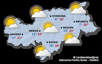Das Wetter heute, 02.09.2014