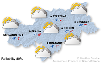 Today's weather forecast, Monday 17.12.2018
