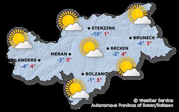 Forecast for today, Thursday 14.11.2019