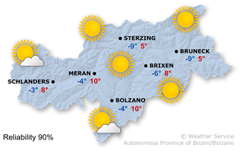 Forecast for today, Friday 24.01.2020