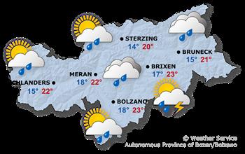 Forecast for today, Thursday 16.09.2021