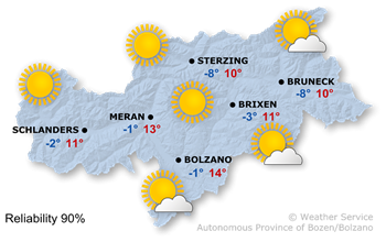 Today's weather forecast, Saturday 16.02.2019