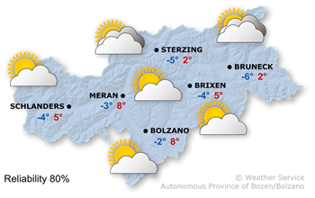 Today's weather forecast, Sunday 19.01.2020