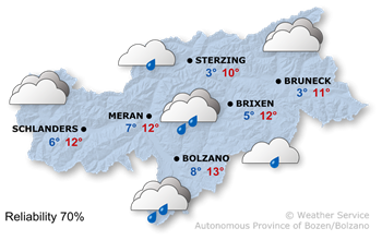 Today's weather forecast, 2021/04/11