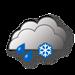 Coperto, pioggia e neve